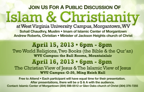 Islam Christian Discussion