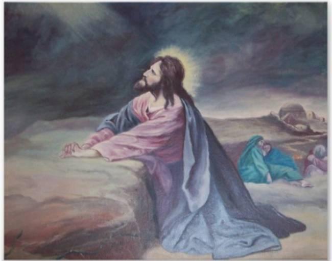 Garden of gethsemane thepreachersword - Jesus praying in the garden of gethsemane ...