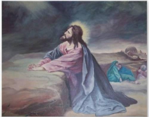 Jesus.Praying.Gethsename