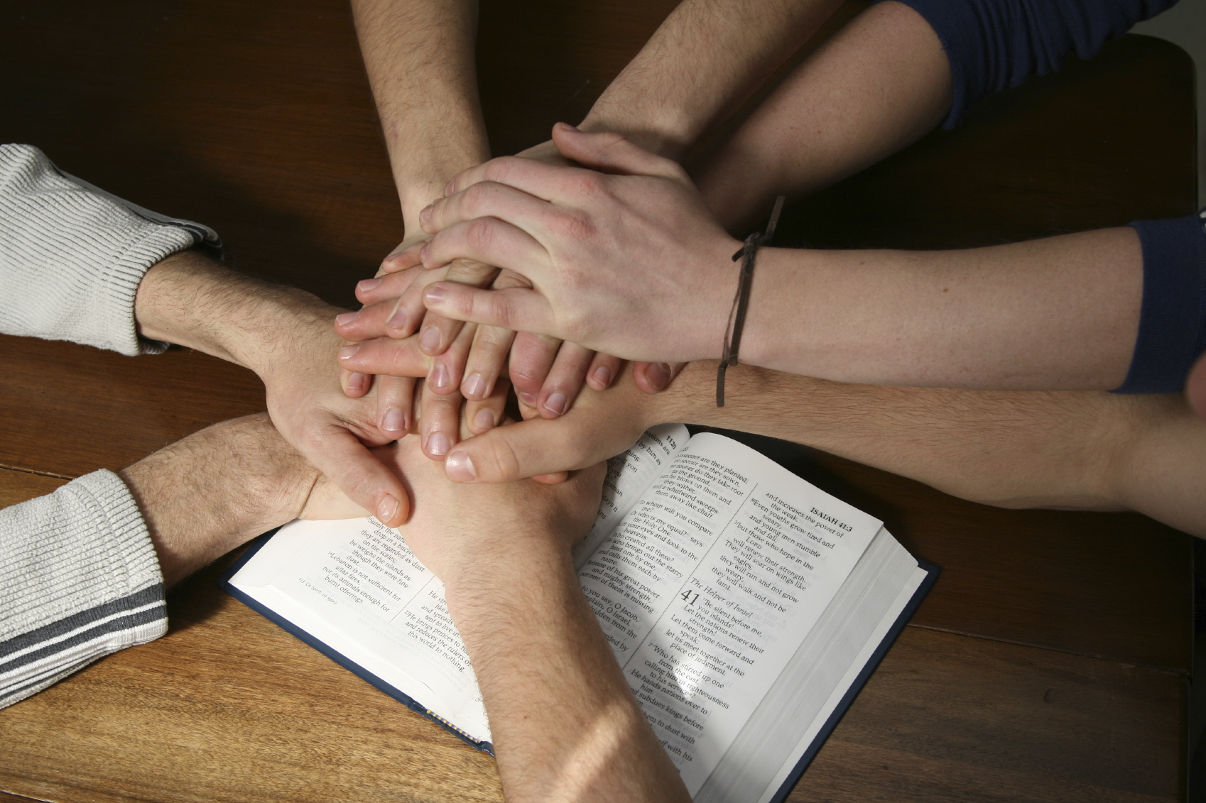 examples of unity in the bible