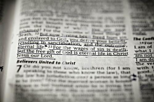 Romans 6.23
