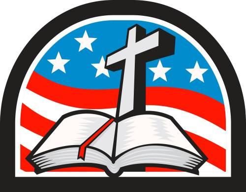 Bible Flag Cross