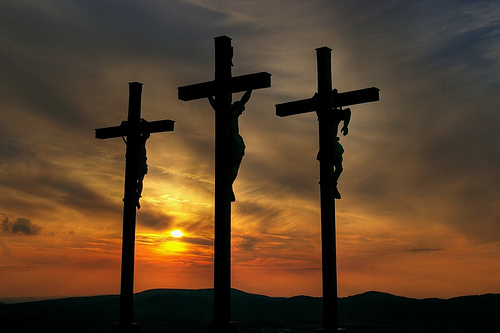 Crosses three
