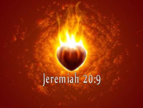 Jeremiah 20.9