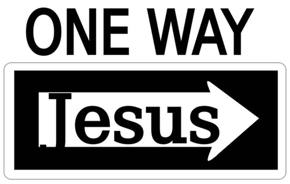 jesus one way - photo #19