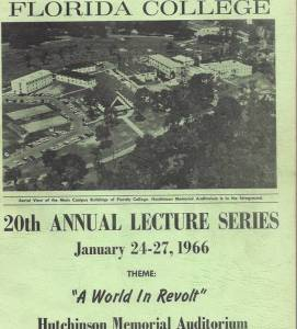FC Lectures 1966