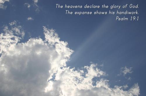 psalm 19.1
