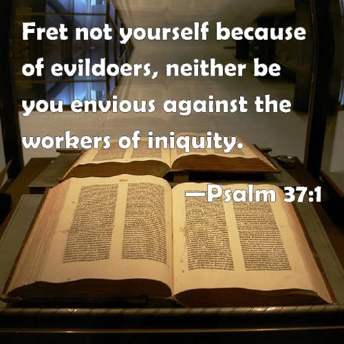 Psalm 37.1