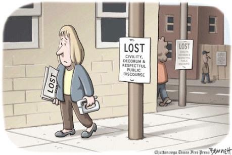 Civility.lost