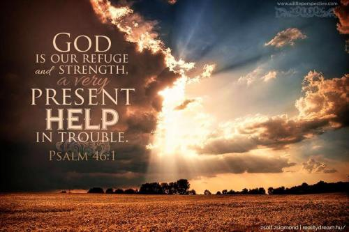 Psalm 46.1..