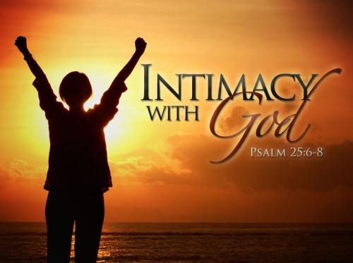 Intimacy-w-god