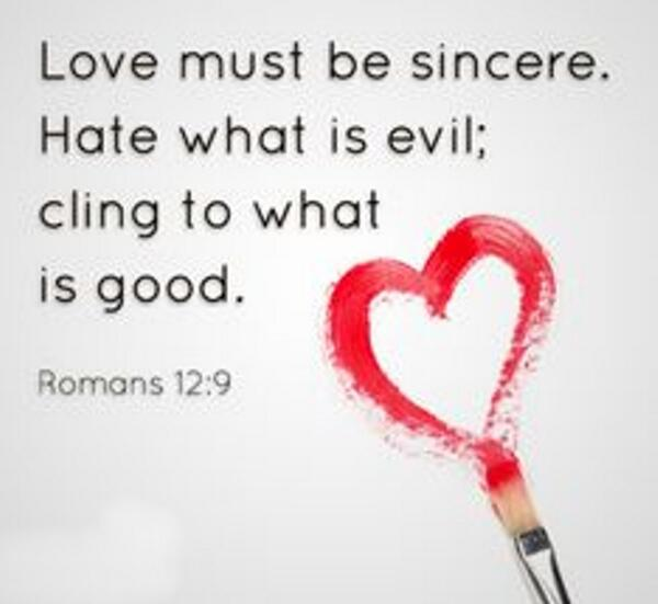 Let Love Be Without Hypocrisy Meaning
