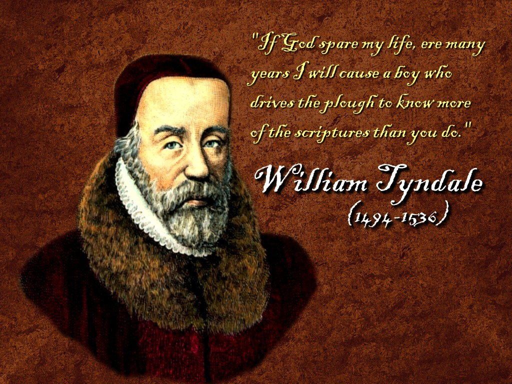 A Tribute To Tyndale